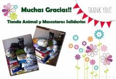 Donación de alimento a SOS Fuerteventura